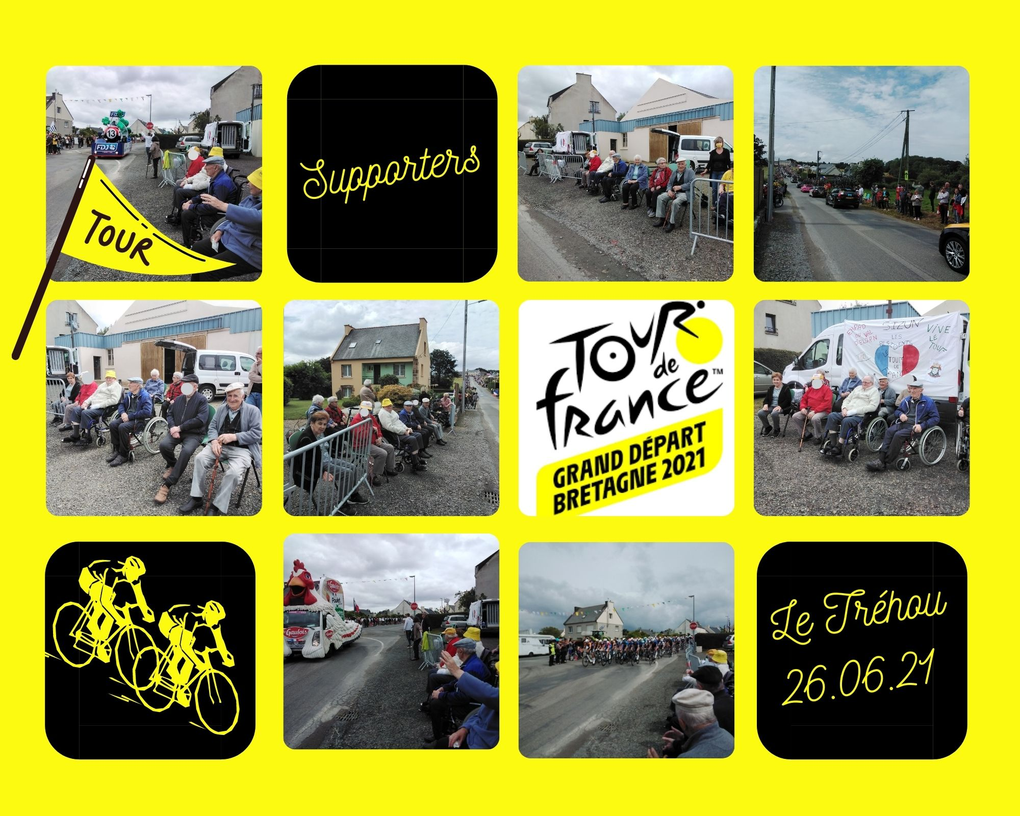 Supporters du Tour de France